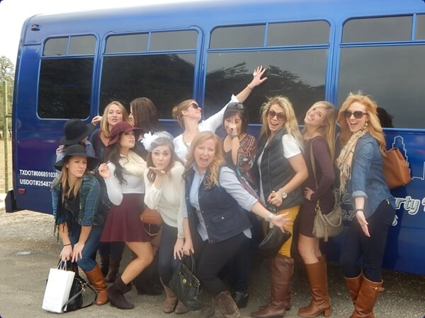 Bachelorette Party with Central Texas Party Bus